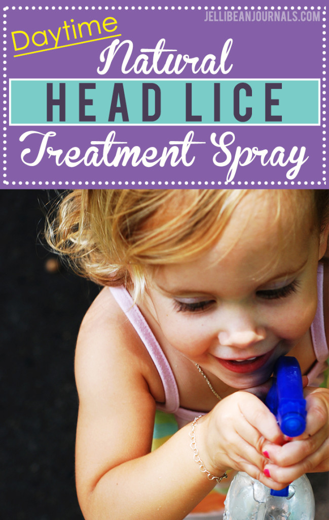 DIY natural head lice spray recipe kills and prevents lice | Jellibeanjournals.com