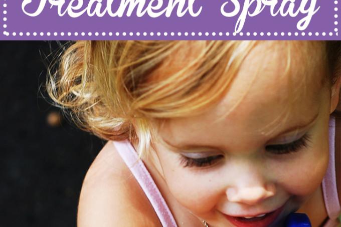 DIY natural head lice spray recipe kills and prevents lice | Jellibeanjournals.com