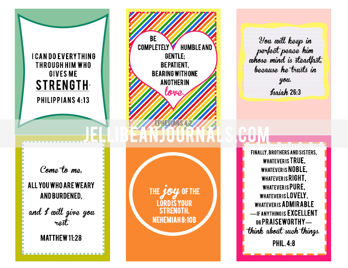 How to survive Mornings with Tots and free Scripture printable cards | jellibeanjournals.com|