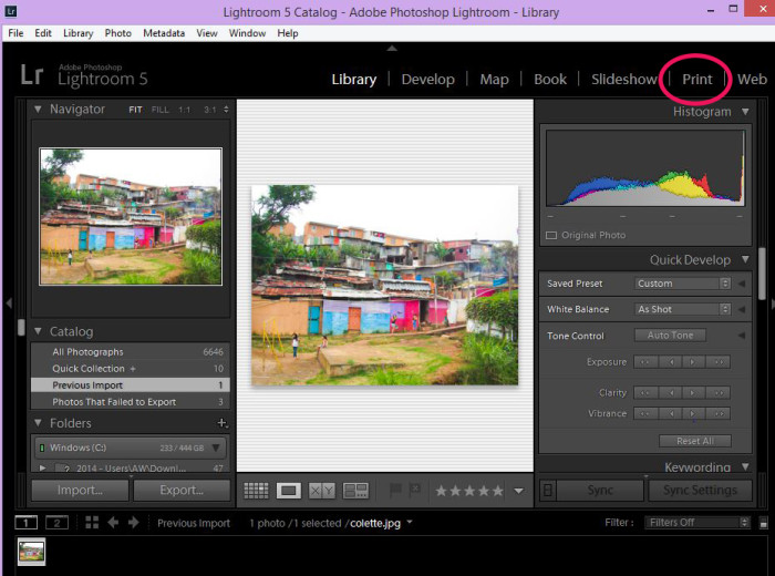 how to install lightroom print templates 1