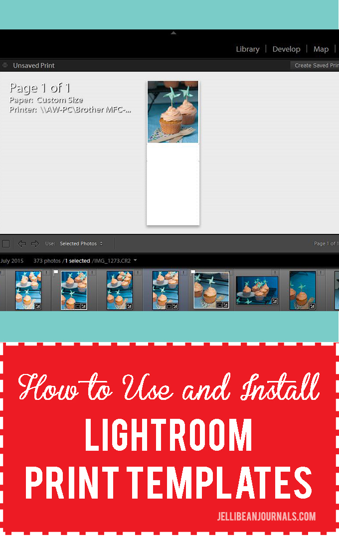 How to use and install Adobe Lightroom templates | Jellibeanjournals.com