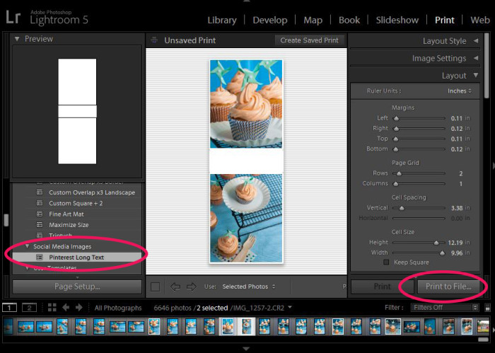 how to use lightroom templates