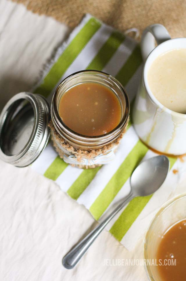 caramel sauce for coffee
