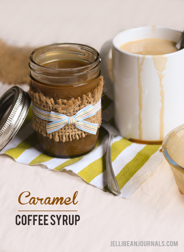 Caramel Sauce that's great in coffee | Jellibeanjournals.com