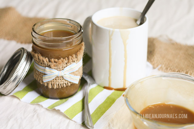 Caramel sauce for coffee | jellibeanjournals.com