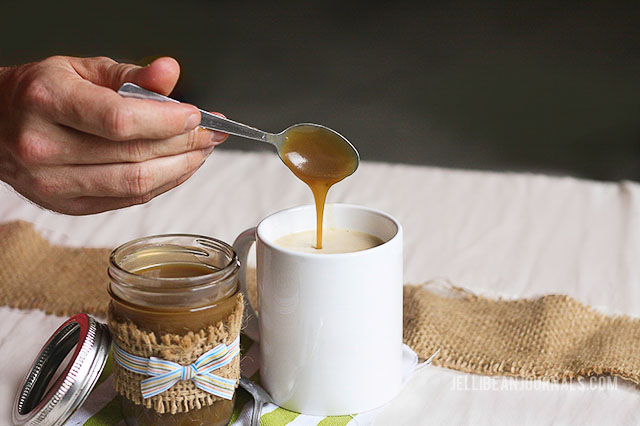 caramel sauce for coffee recipe