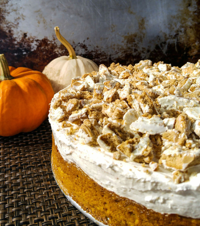 Pumpkin-Spice-No-Bakec-Cheesecake-Cake-5