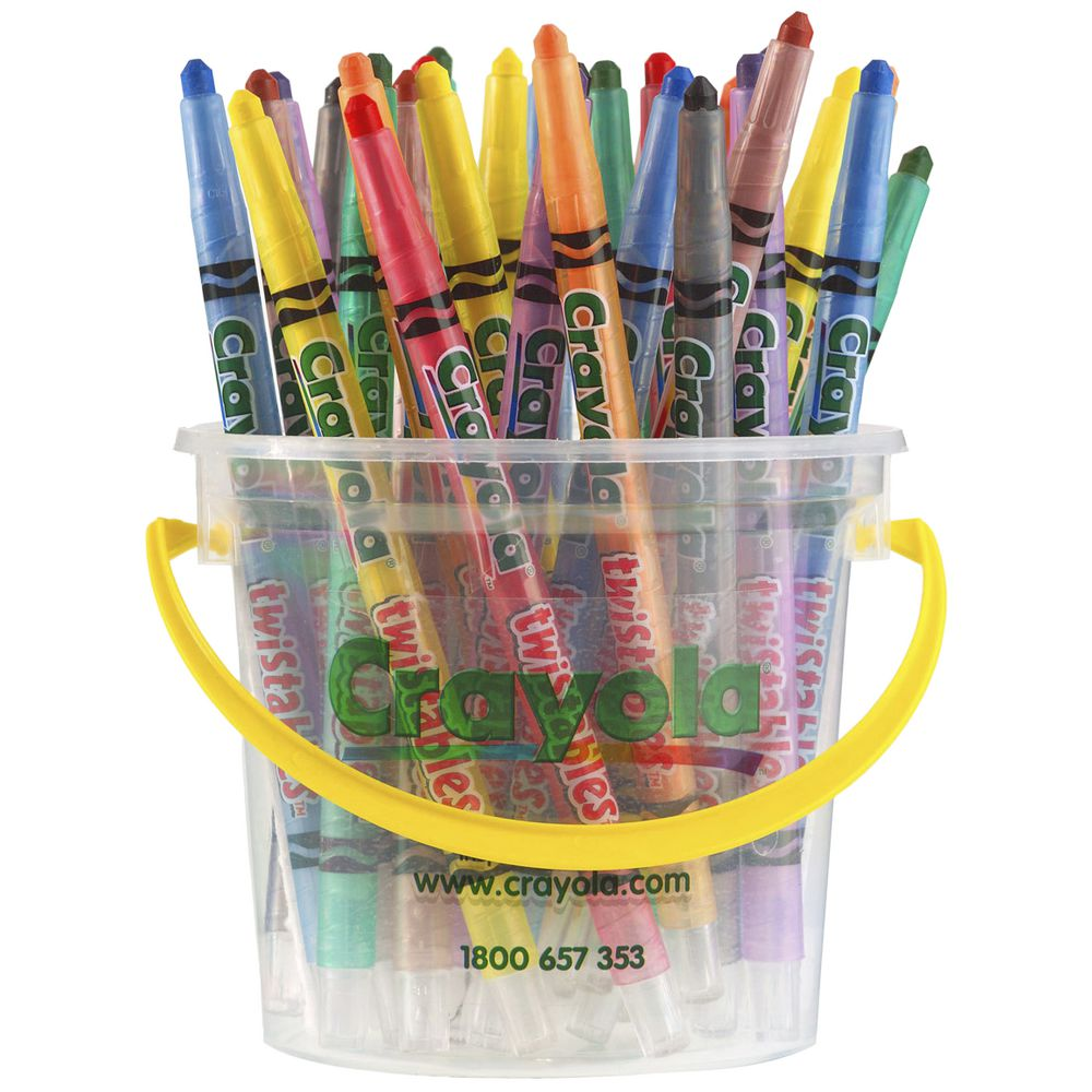 Perfect Bible highlighters- Crayola Twistables Crayons