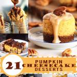 Pumpkin Cheesecake Desserts- Jellibeanjournals.com
