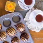 Tarte Citron Lemon Muffins inspired by Lindt's chocolate bar | Jellibeanjournals.com