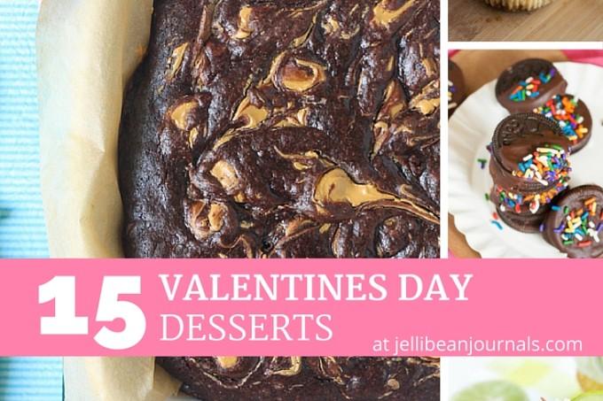 15 Valentine's Day Desserts at Jellibeanjournals.com
