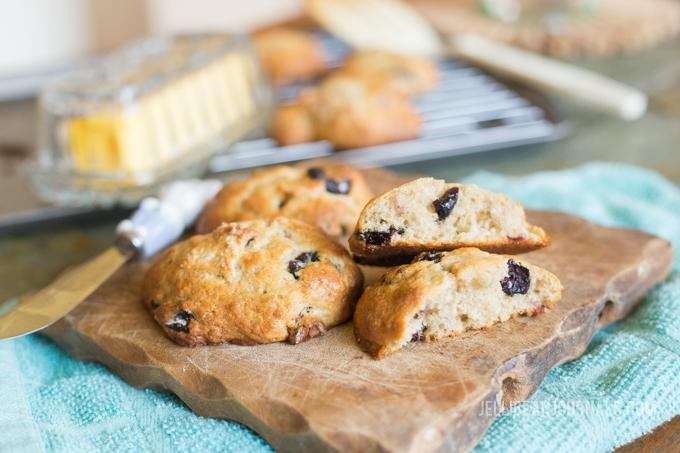 Cranberry Walnut Muffin Tops Recipe | Jellibeanjournals.com