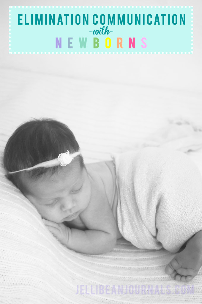 How to use elimination communication with newborns | jellibeanjournals.com