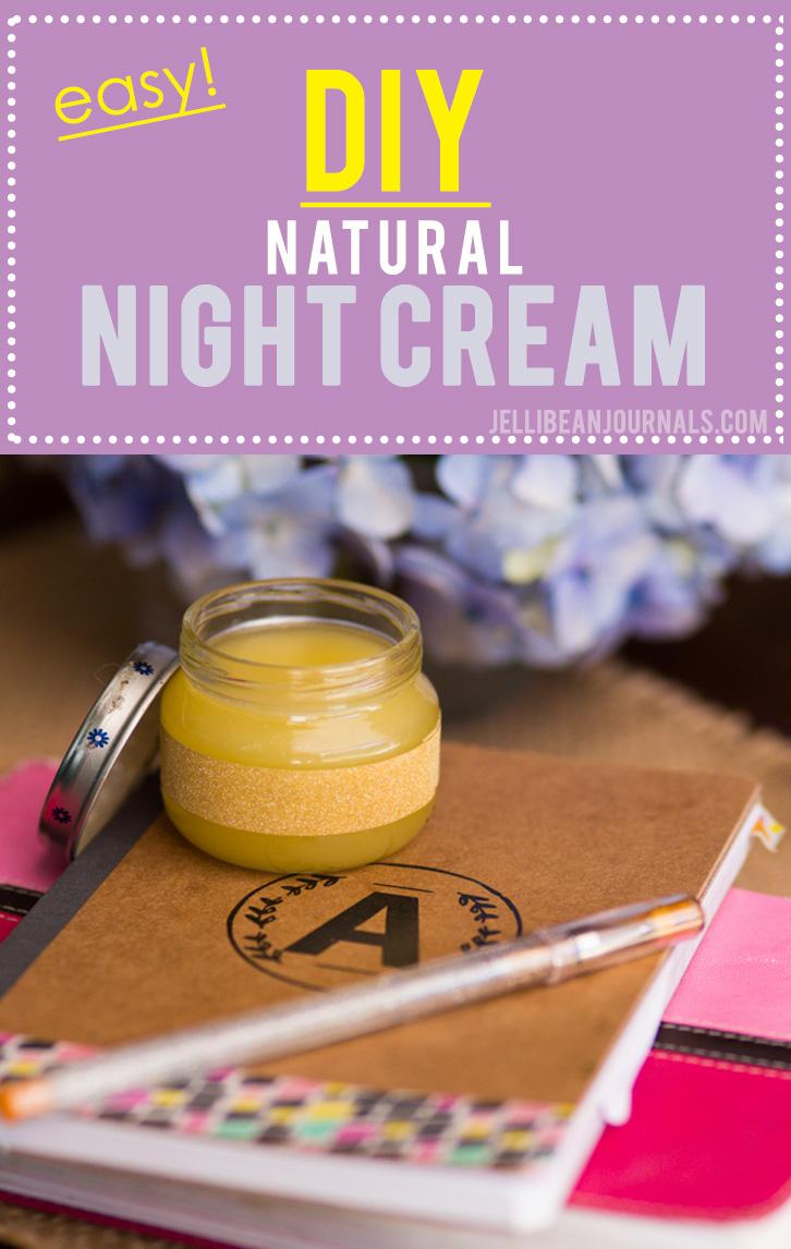 homemade night cream recipe- jellibeanjournals.com