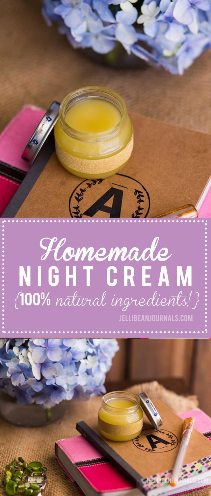 homemade night cream recipe