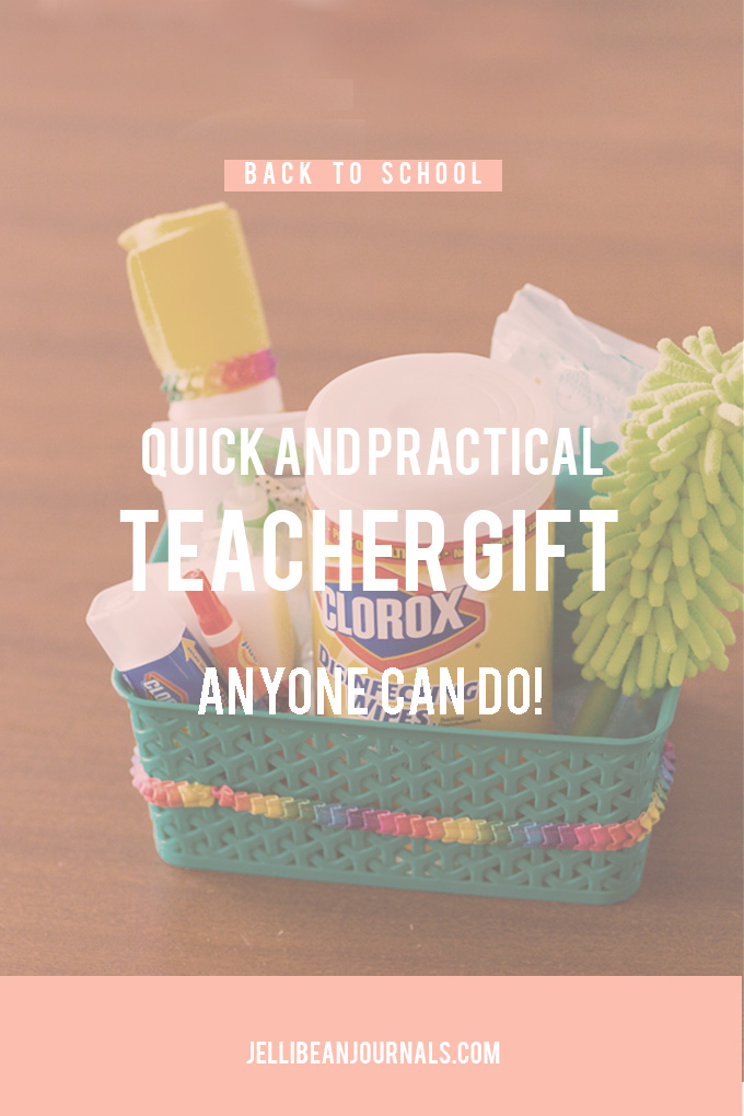 Easy Back to School Teacher Gift | jellibeanjournals.com