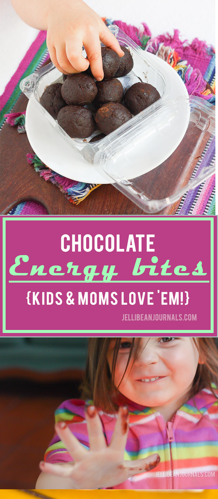 Chocolate energy balls are packed with nutrition and just plain delish! | Jellibeanjournals.com