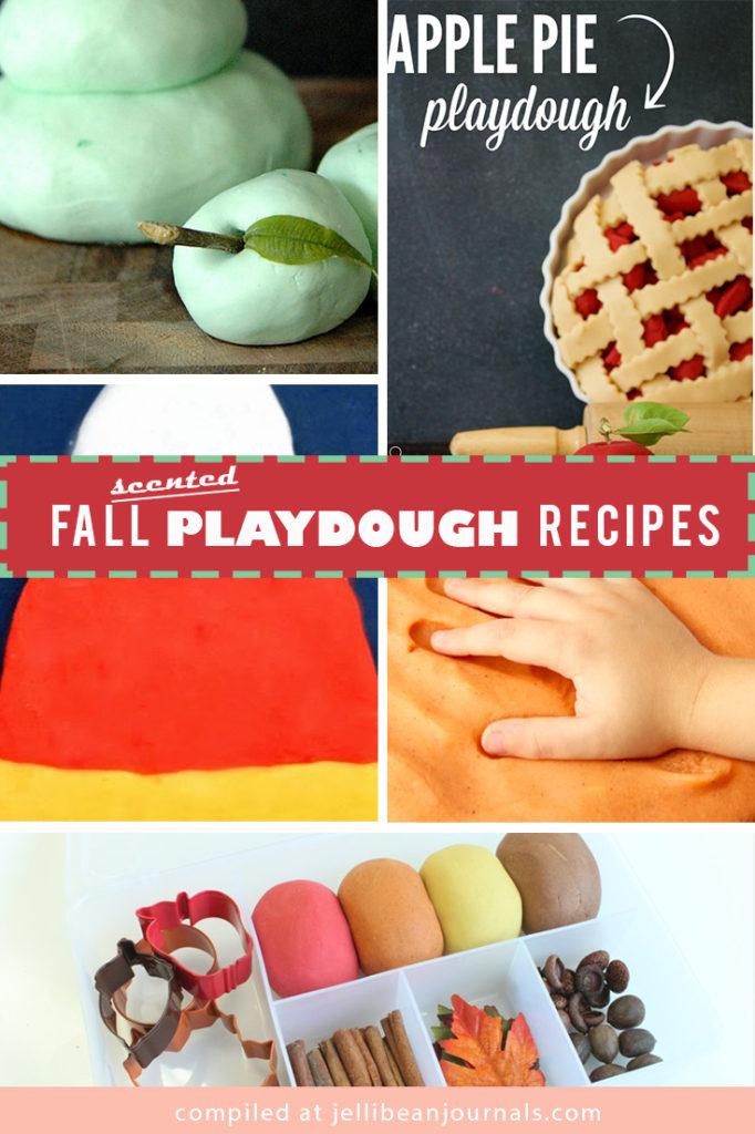 Scented Fall Playdough Recipes | Jellibeanjournals.com