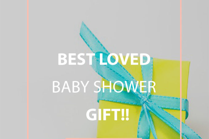 Clever & easy DIY or BUY baby shower gift | Jellibeanjournals.com