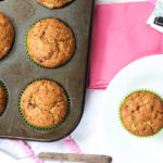 Banana Chocolate Chip Muffins- so tender and loaded with CHOCOLATE! Jellibeanjournals.com
