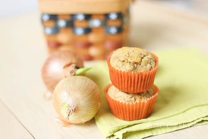 Sweet onion muffins, where have you been all my life?