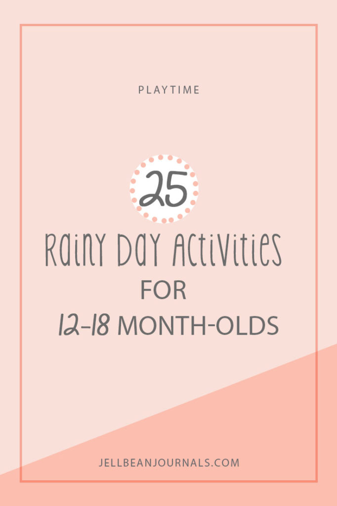 Awesome and totally doable activities to do with your baby indoors | Jellibeanjournals.com