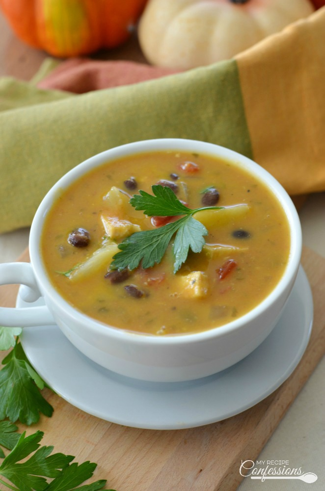 Caribean-Chicken-Pumpkin-Soup
