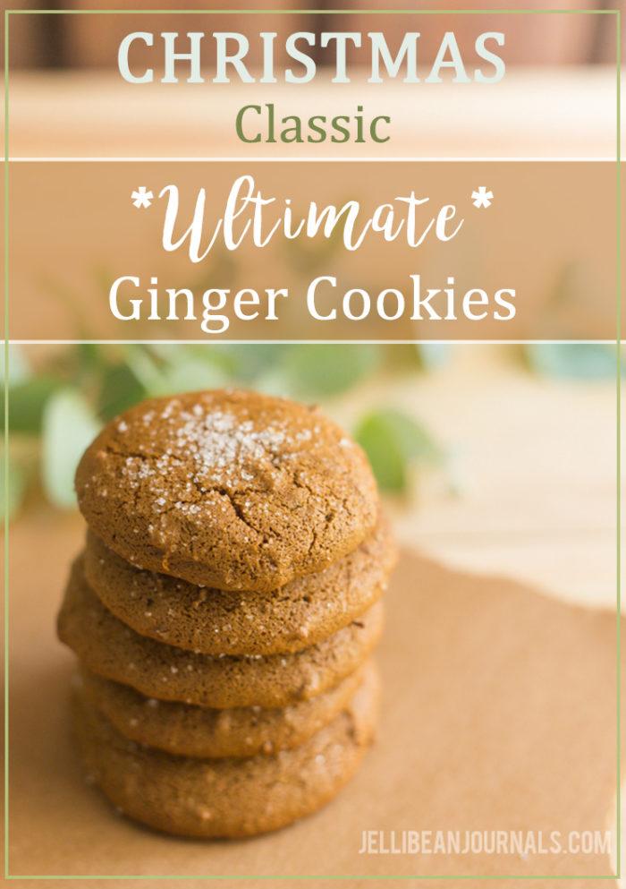 Ginger cookies- my favorite Christas cookies   Jellibeanjournals.com