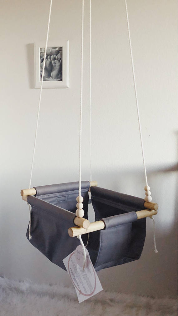 baby swing on etsy