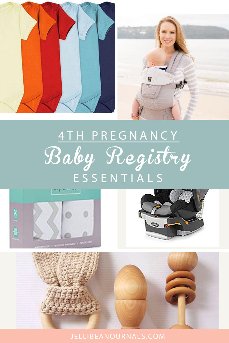 Fourth Pregnancy Baby Registry Must-Haves from Jellibeanjournals.com