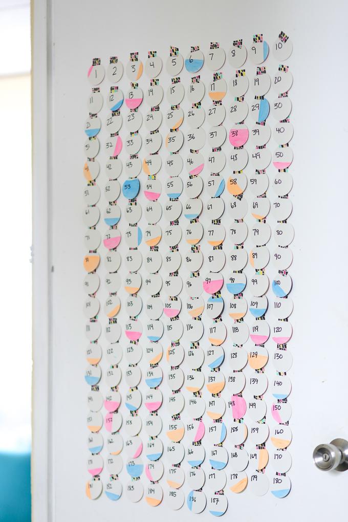DIY Baby Countdown Calendar