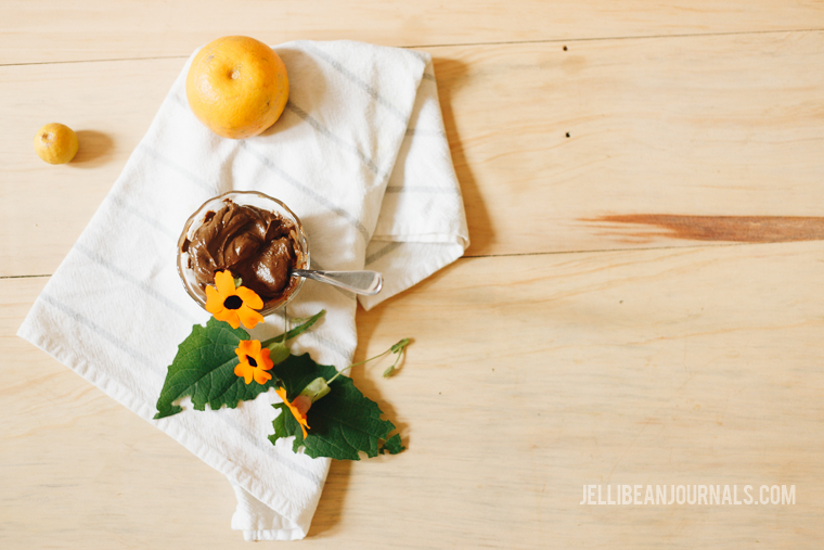 easy chocolate mousse with orange | jellibeanjournals.com